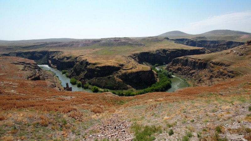 Ani, Kars, Turquía, Turkey, canyon view