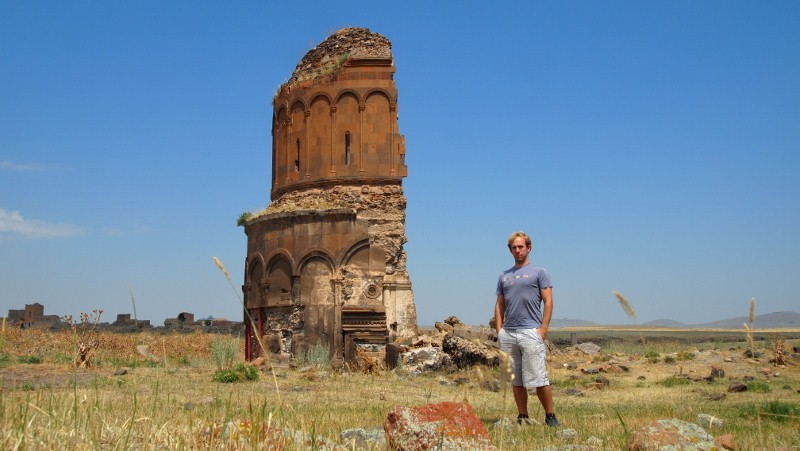 Ani, Kars, Turquía, Turkey - half church