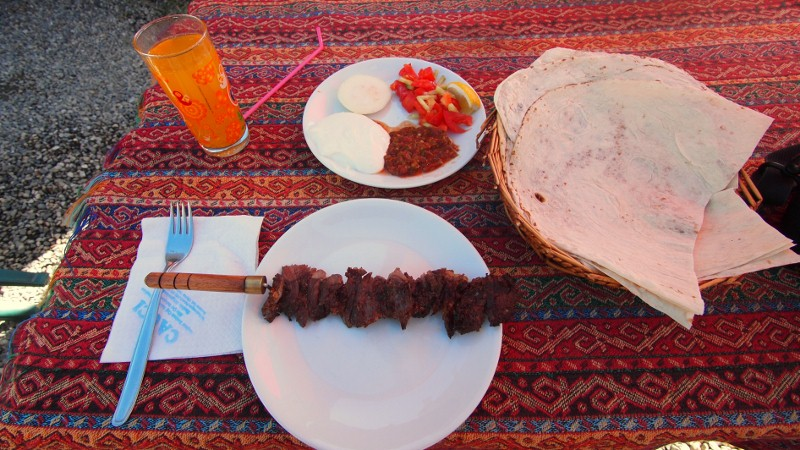 Erzurum, Turquía, Turkey, Cag Kebab
