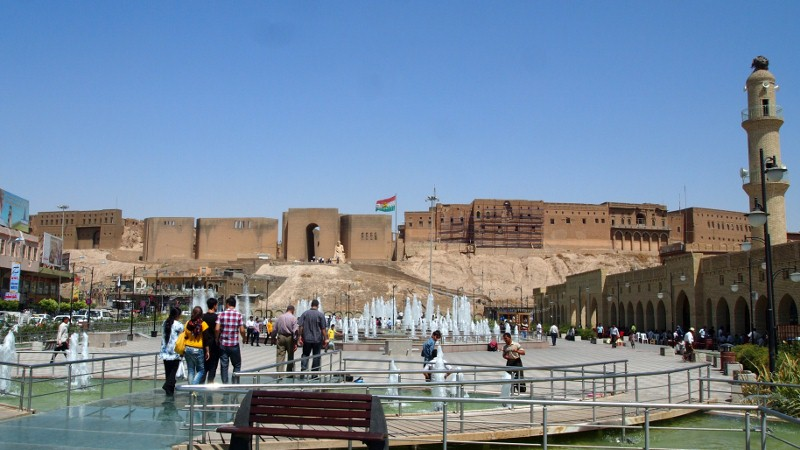 Iraq, Irak, kudistan, Arbil, capital