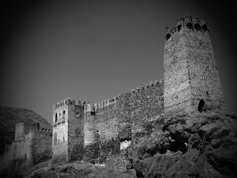 Georgia, Vardzia, castillo, clastle, tower, torre