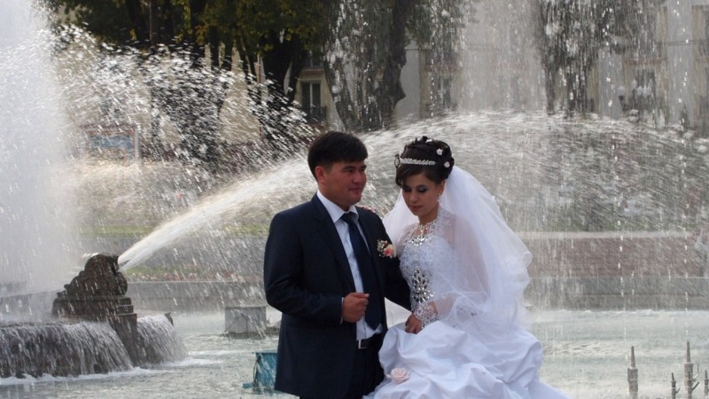 PA144130Uzbekistan, central asia, silk road, ruta seda, Tashkent,boda, wedding, fountain