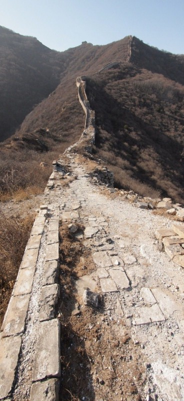 China, gran muralla, great wall, Badaling PB306707