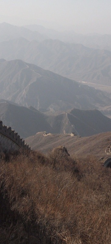 China, gran muralla, great wall, Badaling PB306741